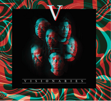 "Load image into Gallery viewer, Visionaries ""V"" Limited Edition 1st Pressing CD"