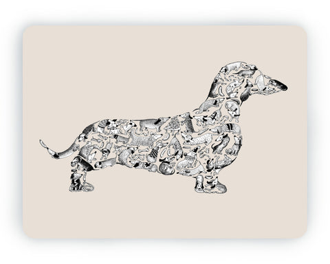 Dachshund Table Mat