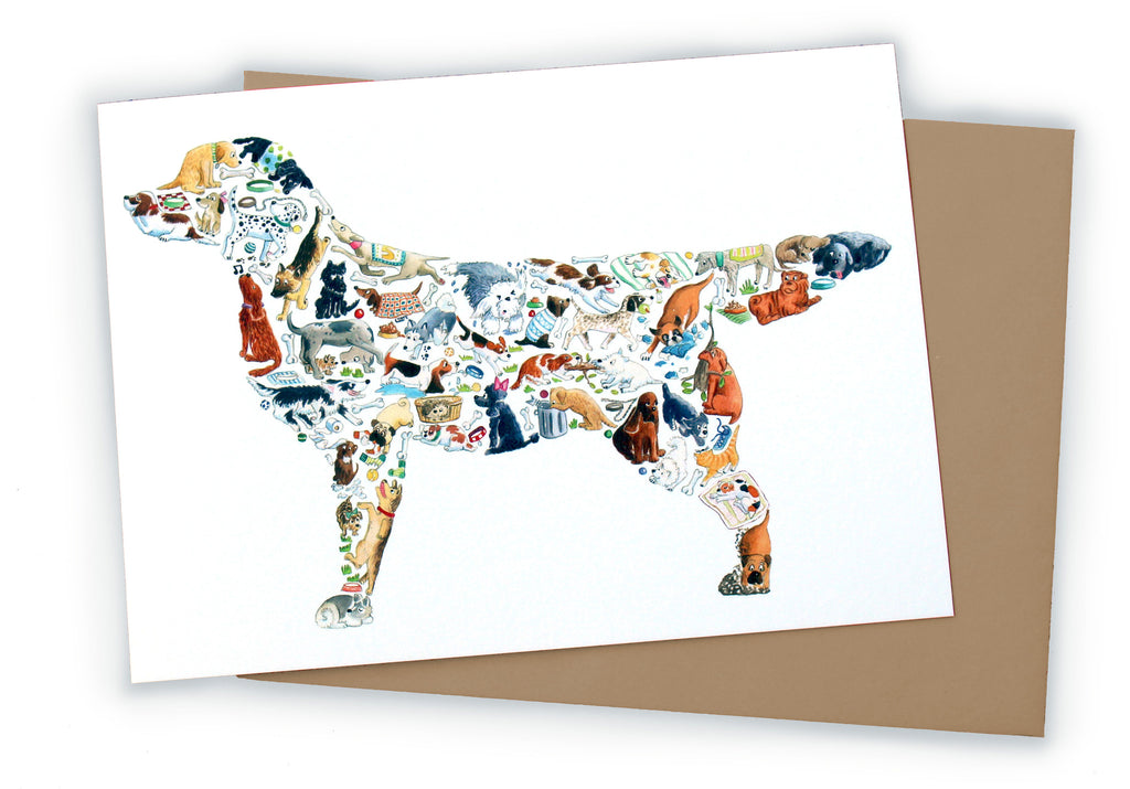 Dog Greetings Card