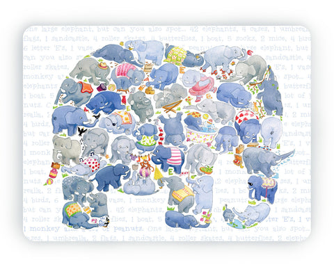 Elephant Table Mat