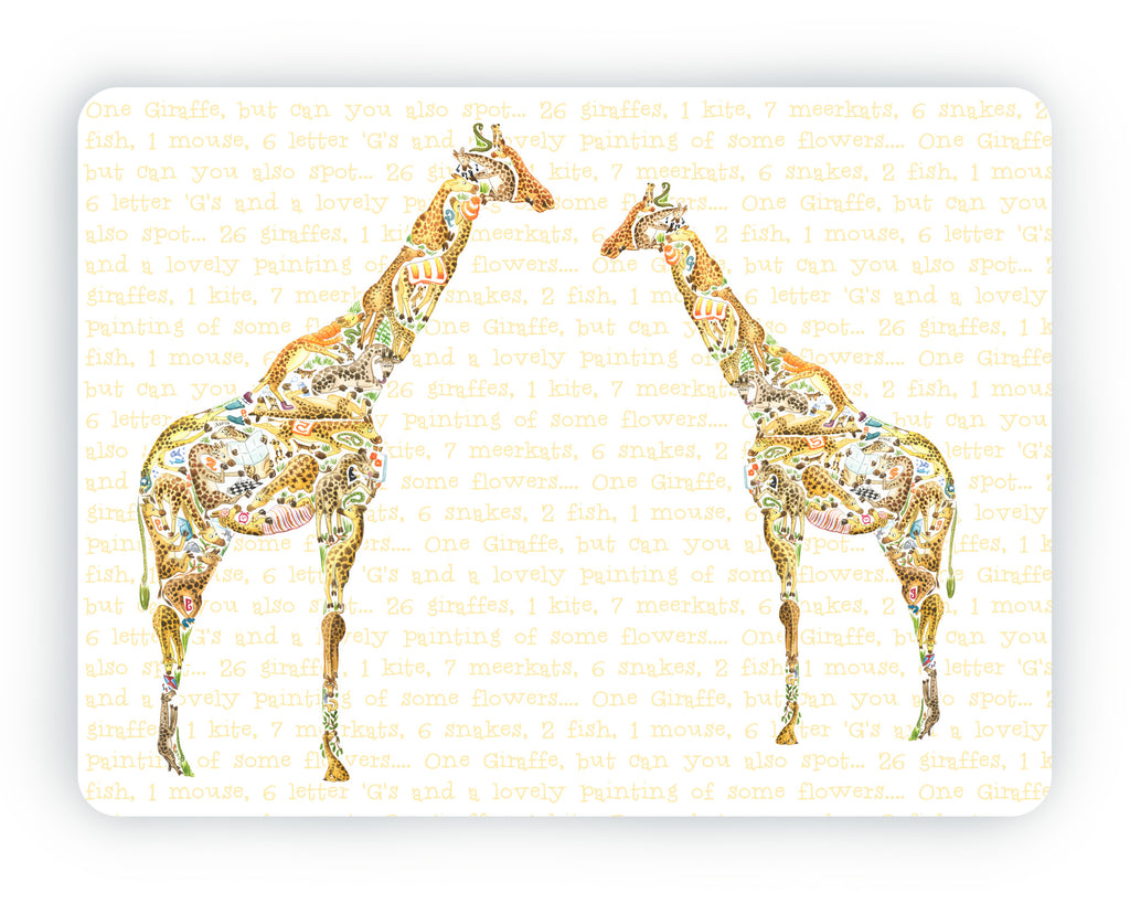 Giraffe Table Mat
