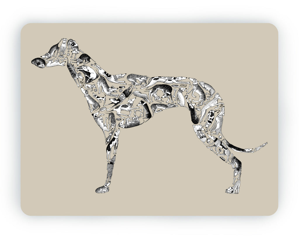Greyhound Table Mat