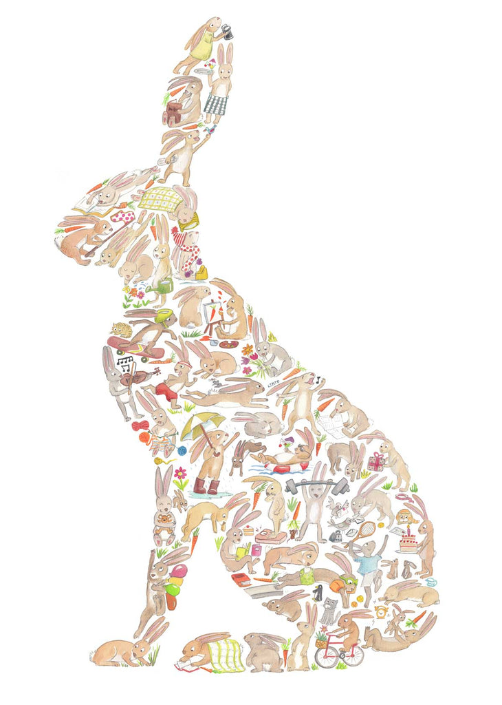 H is for Hare