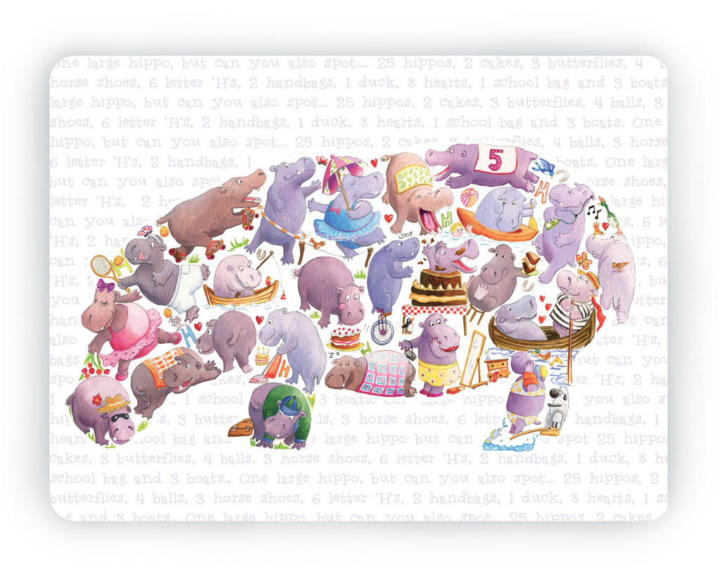Hippo Table Mat