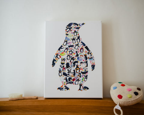 Canvas Art Prints - Composite Animals