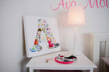 Canvas Art Prints -  Alphabet