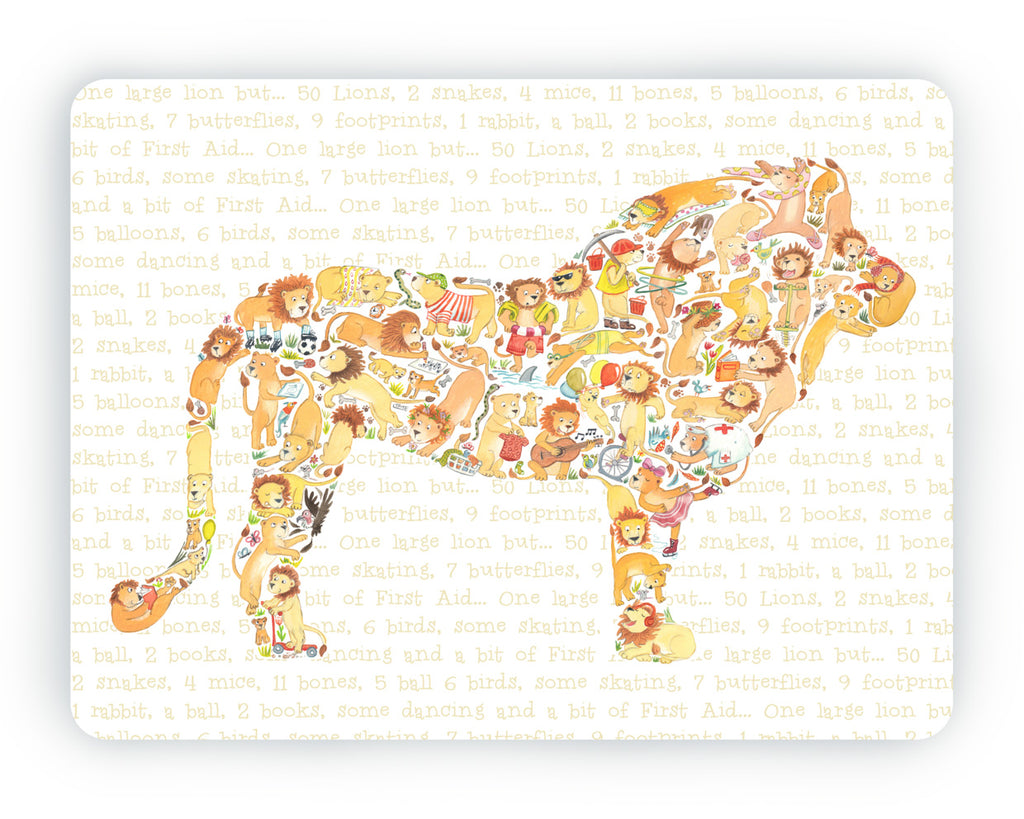 Lion Table Mat