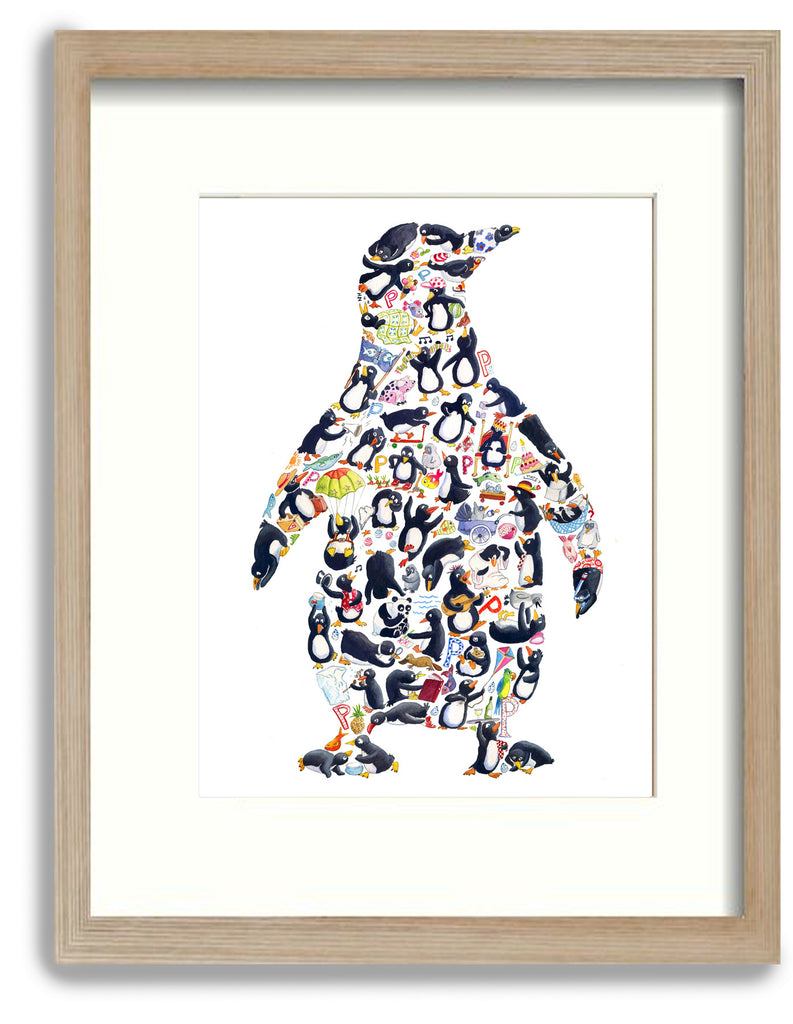 P is for Penguin