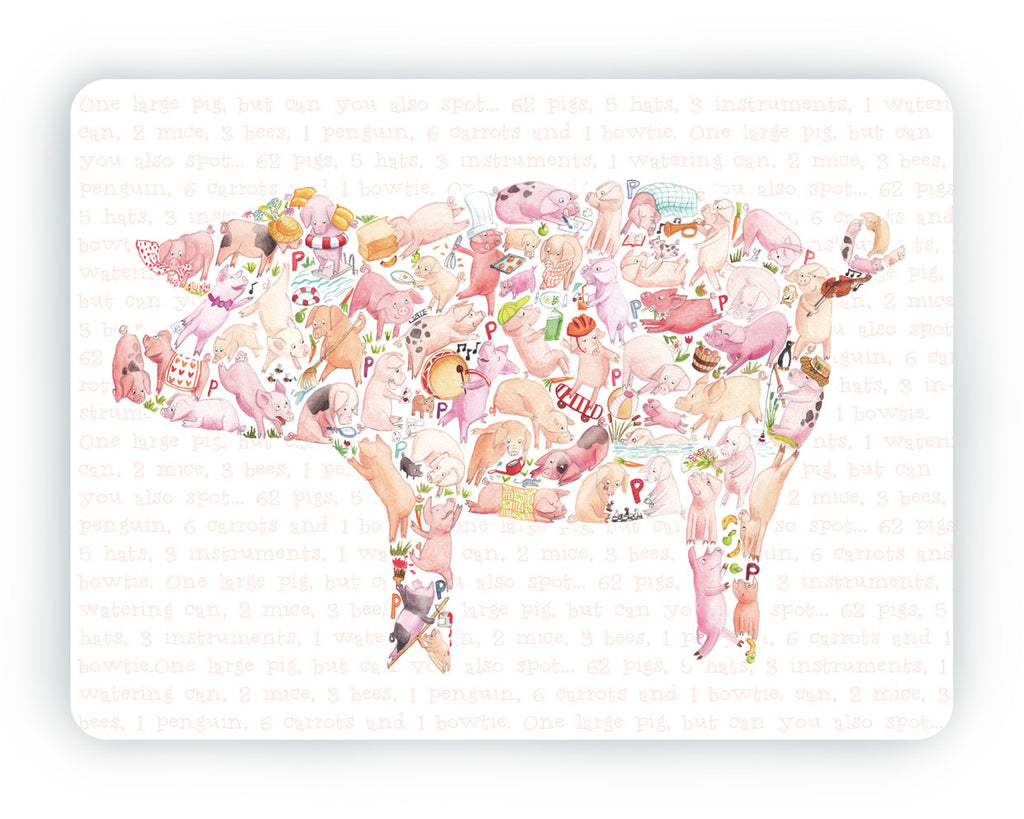 Pig Table Mat