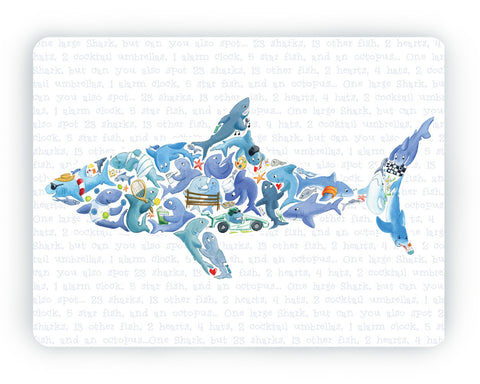 Shark Table Mat