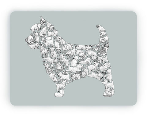Westie Table Mat