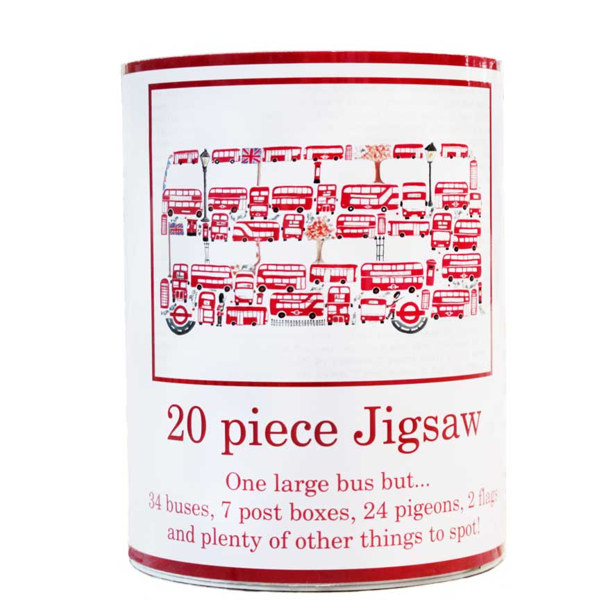 20 piece Bus jigsaw