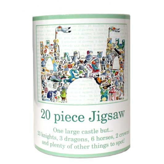 20 piece Castle jigsaw