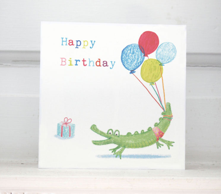 Crocodile - Happy Birthday