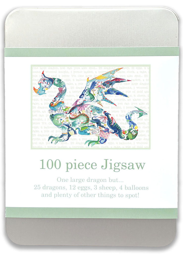 100 piece Dragon Jigsaw