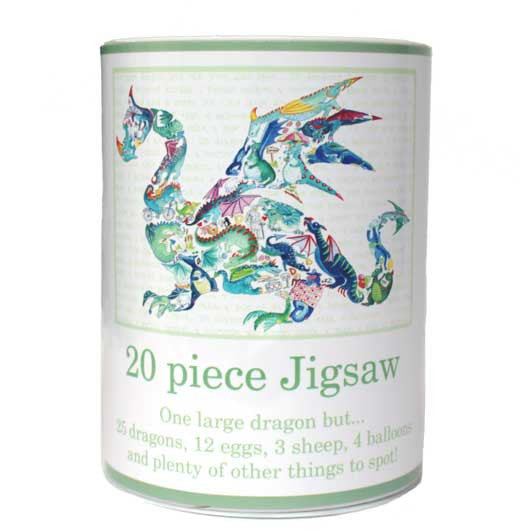 20 piece Dragon jigsaw