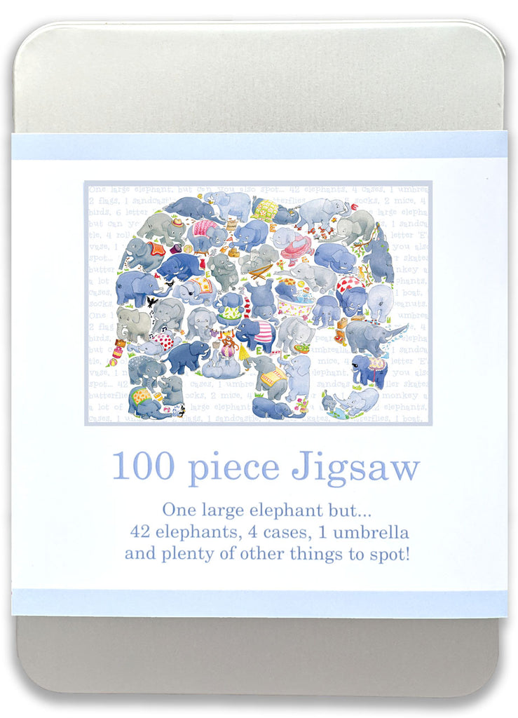 100 piece Elephant jigsaw