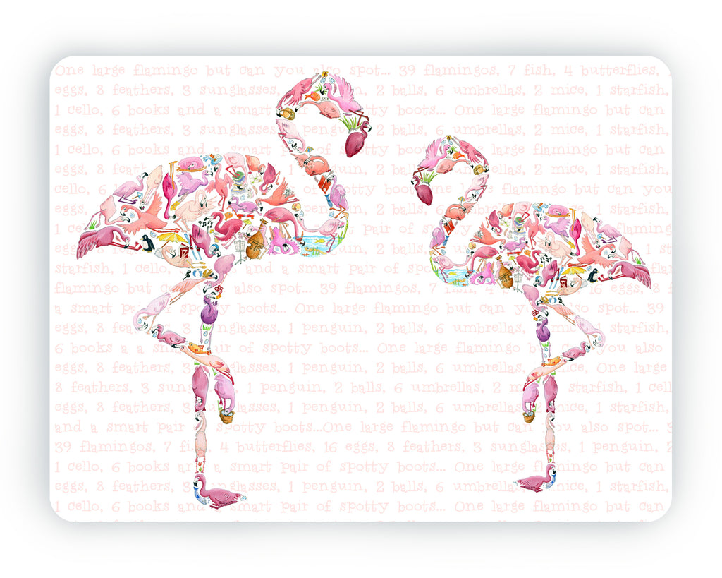 Flamingo Table Mat