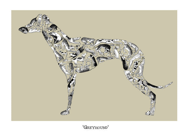 Greyhound Card