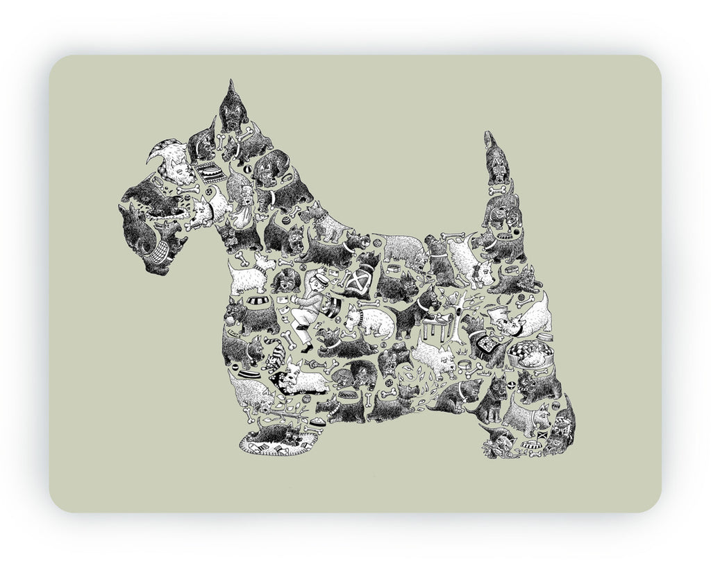 Scottish Terrier Table Mat