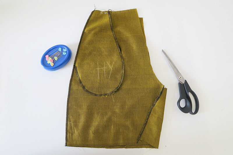 Fern sewalong: sewing the seams