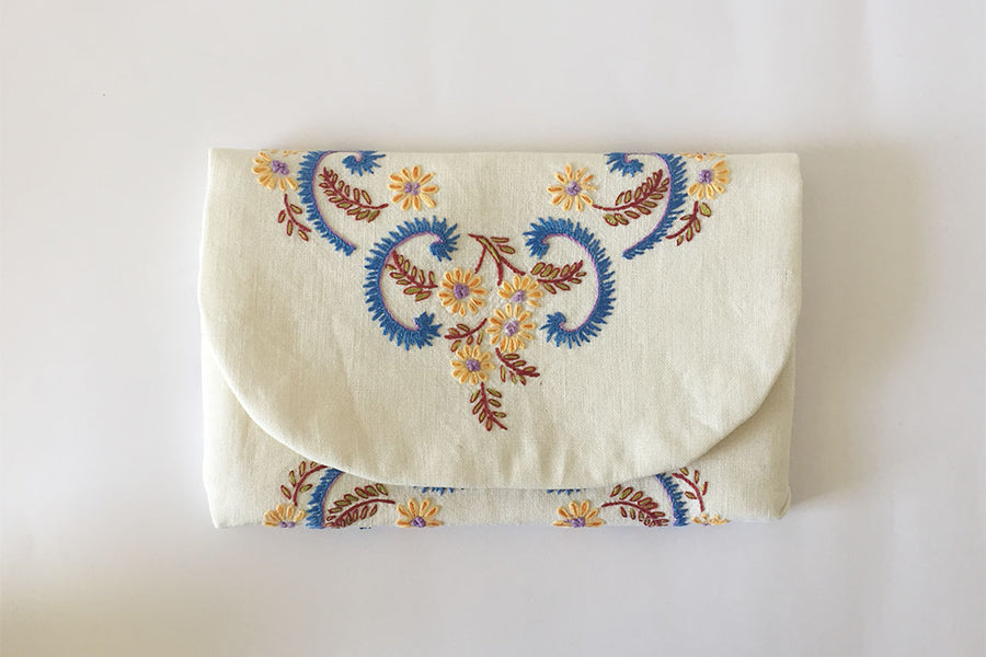 Free pattern! The Afternoon Clutch