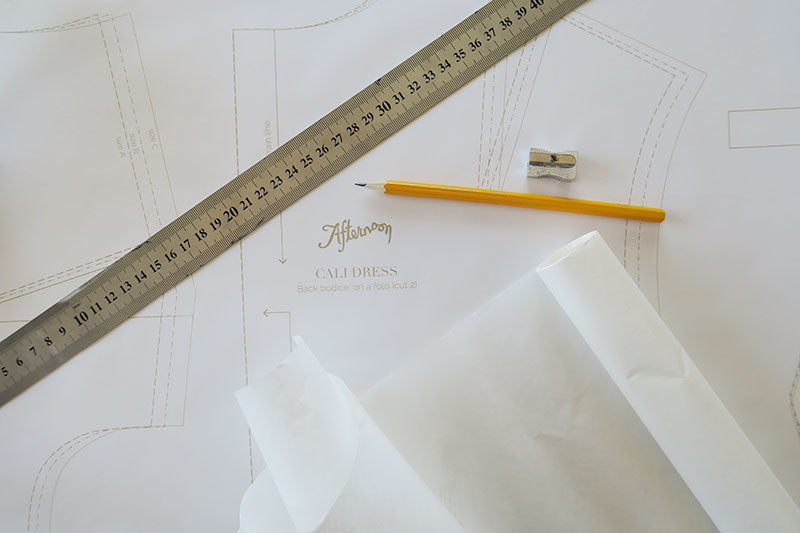 Baking paper for tracing