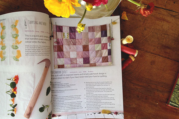 Ideas natural dye quilt by Afternoon