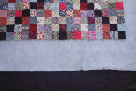 Layer up quilt and batting