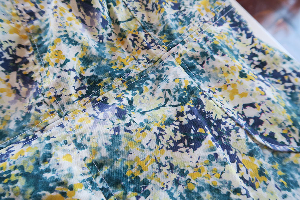 Abstract floral fabric from Ribes y Casals