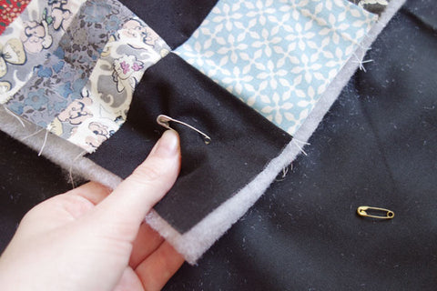 Secure with safety pins