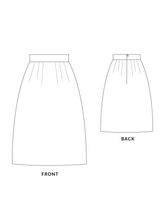 Load image into Gallery viewer, Amy skirt sewing pattern