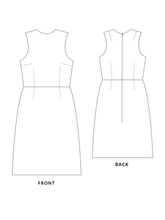 Load image into Gallery viewer, Cali dress sewing pattern