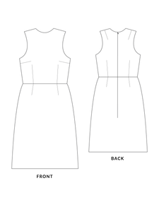Cali dress sewing pattern