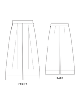 Load image into Gallery viewer, Heron culottes sewing pattern