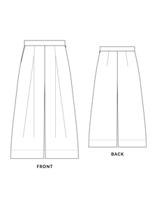 Heron culottes sewing pattern