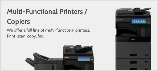 multi-functional printers copiers