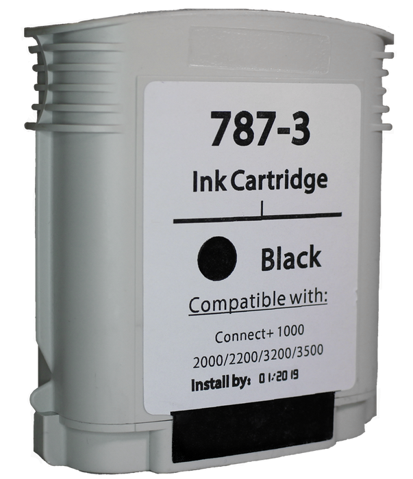 Pitney Bowes Connect + Series 787-3 Black Ink Tank