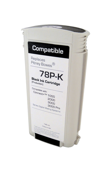 Pitney Bowes Connect+ Series 78P-K Black Ink Tank