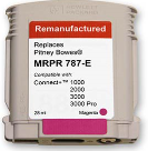 Pitney Bowes Connect + Series 787-E Magenta Ink Tank (Remanufactured)
