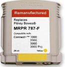 Pitney Bowes Connect + Series 787-F Yellow Ink Tank (Remanufactured)