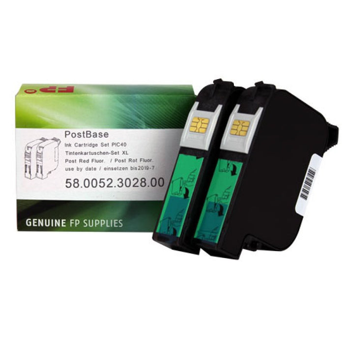 PostBase PIC-40 High Capacity Ink Cartridge Set (OEM)