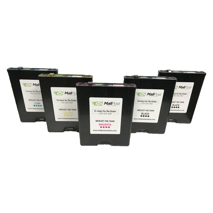 Memjet OEM Ink Tanks / Ink Cartridges (Complete Set)