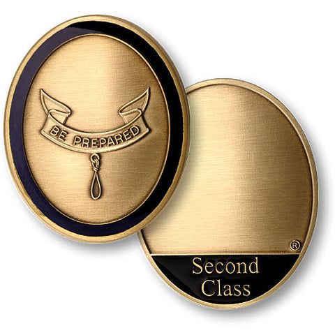 Second Class Scout Challenge Coin