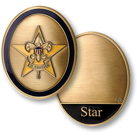 Star Scout Challenge Coin