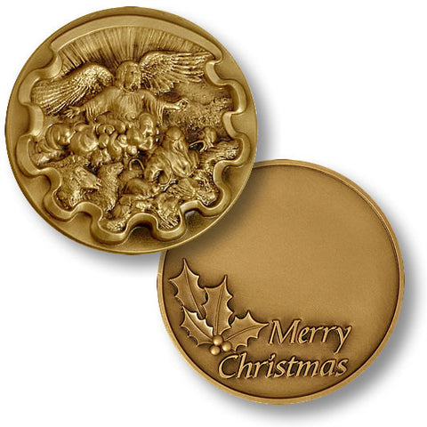 Tidings of Joy Challenge Coin