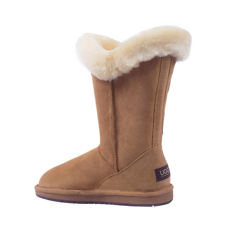 Auzland, Mid Bailey, Designer 2 Button UGG Boot, Water Resistant