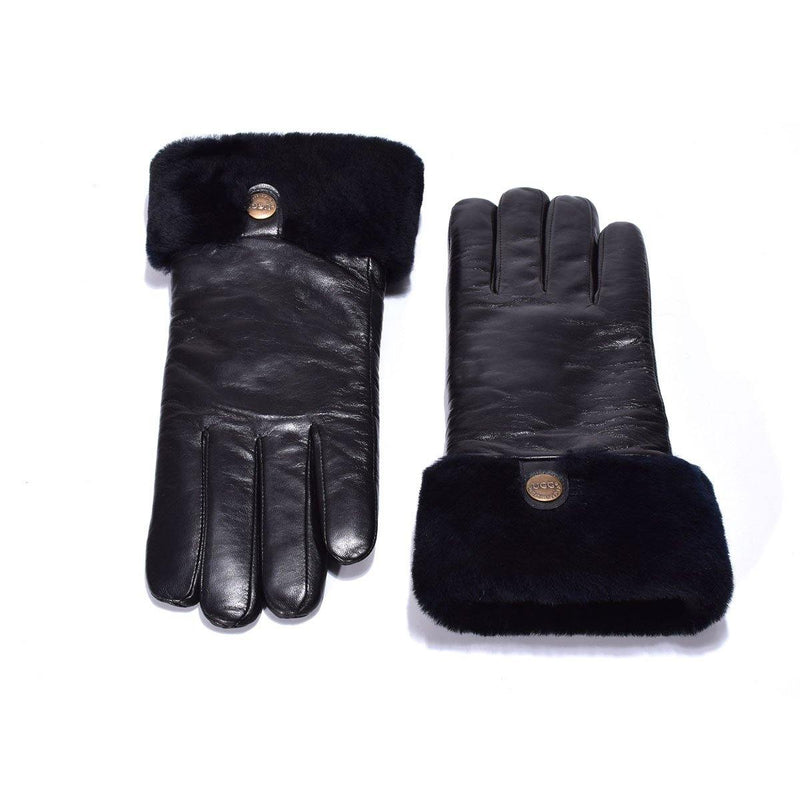 Auzland UGG, Women Leather Gloves, Australian Wool