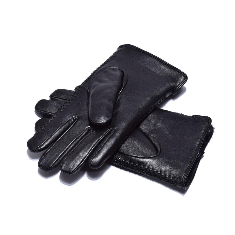 Auzland UGG, Men Leather Gloves, Australian Wool