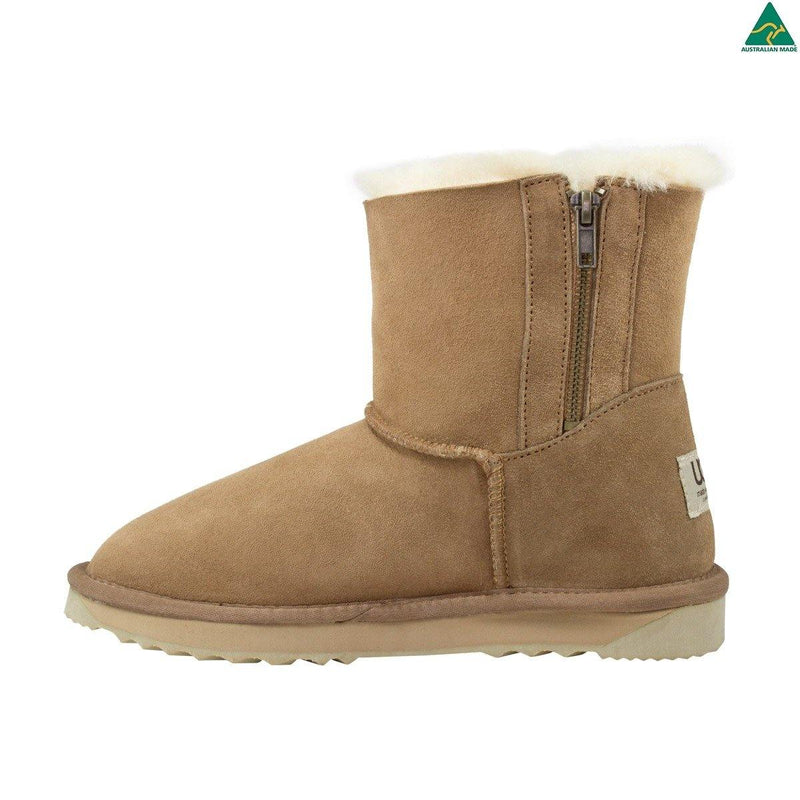 Comfort Me, Australian Made, Twin Zip UGG Boot